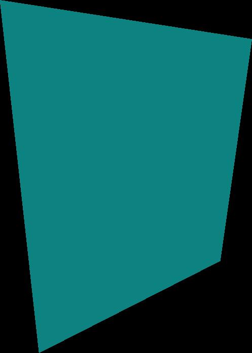 Turquoise Background Shape